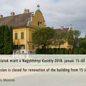 Service Announcement - Nagytétény Mansion