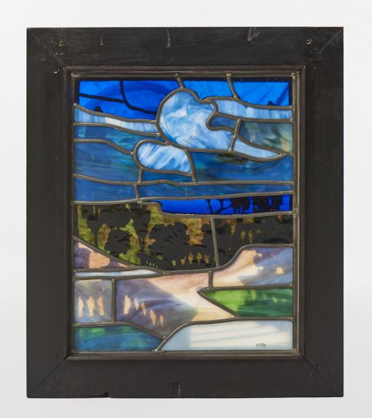 Garden (stained glass), James Guthrie & Andrew Wells Ltd., Glasgow, before 1904, inv.no. 11970