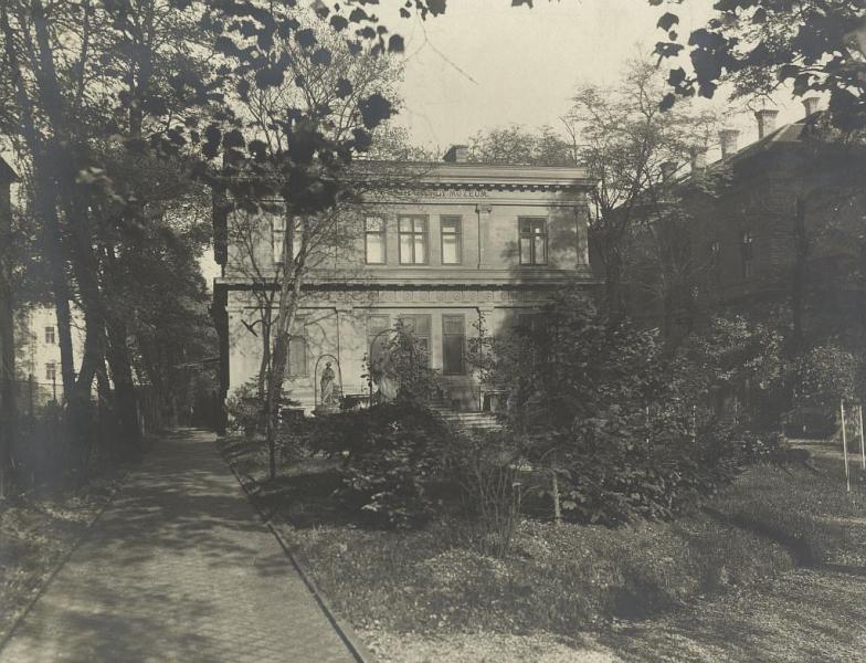A Ráth-villa épülete 1906-ban