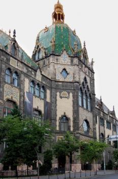 Az Iparművészeti Múzeum épülete