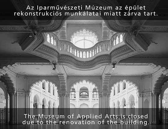 The Museum of Applied Arts is closed due to the renovation of the building.